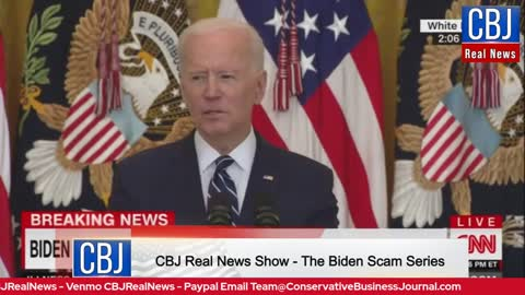 CBJ Real News Show (Part 141): Biden's Press Conference Blunders