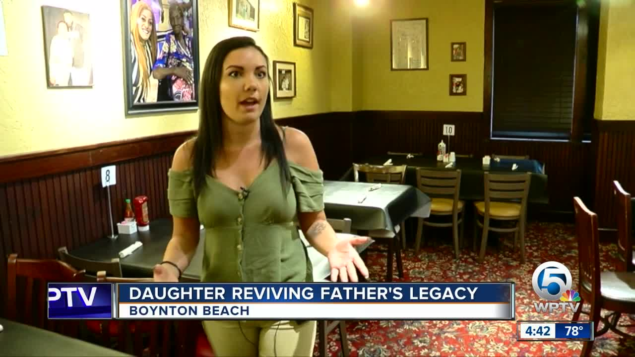 Daughter reviving father's legacy