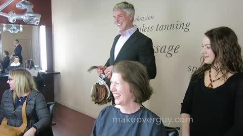 MAKEOVER! I'm Even Smiling More Than I Usually Do, by Christopher Hopkins, The Makeover Guy®