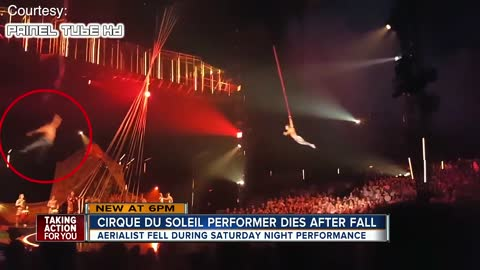 Cirque du Soleil Performer Plummets to Death In Front of Families