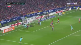 Gol de Luis Suarez vs Atletico Madrid
