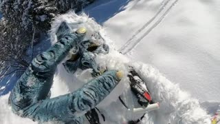 Yeti Carves Out Some Fresh Mountain Snow