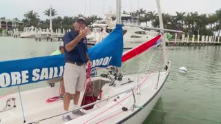 Sailing Tips - Hoist The Spinnaker - Video