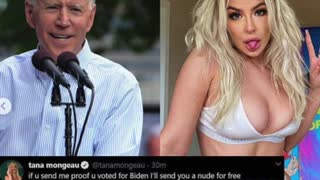 Social Media influencer faces backlash and possible legal problems after #bootyforbiden campaign