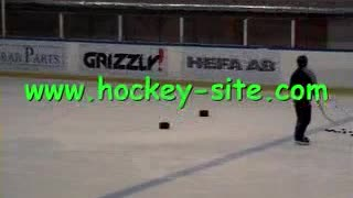 Hockey Drill 009  - Video