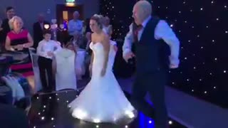 Daughter and Dad wedding dance mash up  - Video