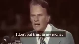 Billy Graham's message about these trying times