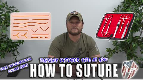 HOW TO SUTURE with Doc