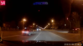 Man Nearly Hit by Car - Video