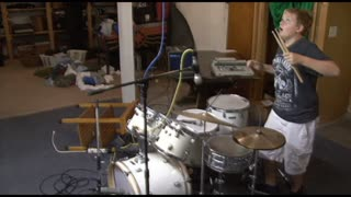 Recording Session Ends With a Bang - Video