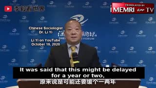 Chinese sociologist: We are driving America to its death, U.S. will not survive against China