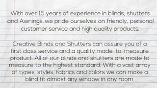 Creative Blinds and Shutters | Surrey - Video