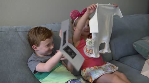 These kids have a heart-melting reactions to new baby announcement!
