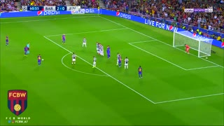Tiro libre de Messi vs Juventus - Video