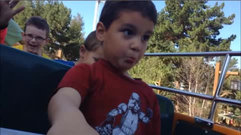 Kids And Babies Hilarious Reactions At Amusement Parks