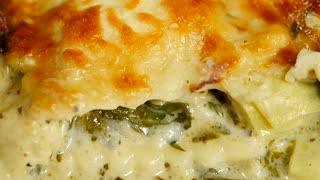 Baked spinach ravioli casserole recipe - Video