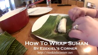 How to wrap suman