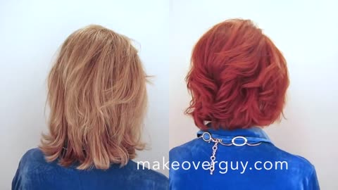 MAKEOVER: Vibrant Red, by Christopher Hopkins,The Makeover Guy®