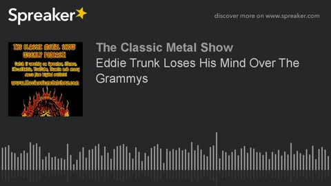 Eddie Trunk Loses His Mind Over The Grammys