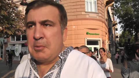 Saakashvili Exposes Ukrainian Corruption In Less Than 2 Minutes