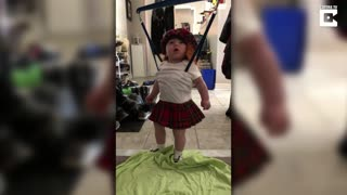 Adorable Baby Dancing In Kilt - Video