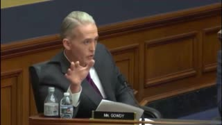 Watch Trey Gowdy Grill the Deputy AG Over FBI Investigator 'Smelling' Trump Supporters 'At Walmart' - Video