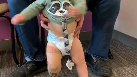 Boy Born Without Leg Dances for the First Time