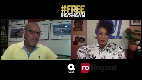 Laurence Fishburne speaks to rolling out about new series Free Rayshawn