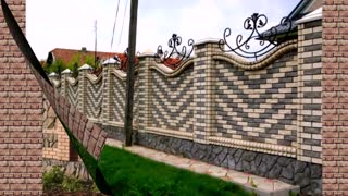 Most Beautiful Fences Are Made of Bricks.