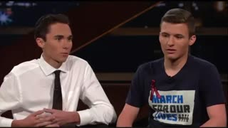 Parkland Survivor David Hogg Hung Up On Trump's White House Because They Were Offensive - Video