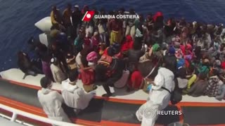 Migrant crisis brought into sharp focus by latest figures - Video