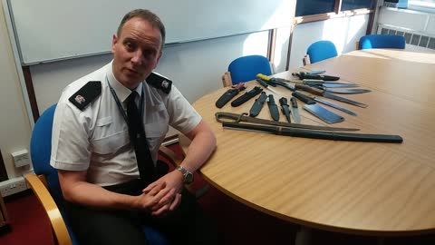 260 knives handed in duting police amnesty