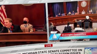 Explosive Election Fraud Testimony in Michigan