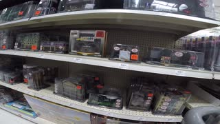 Menards has their toy Trains in
