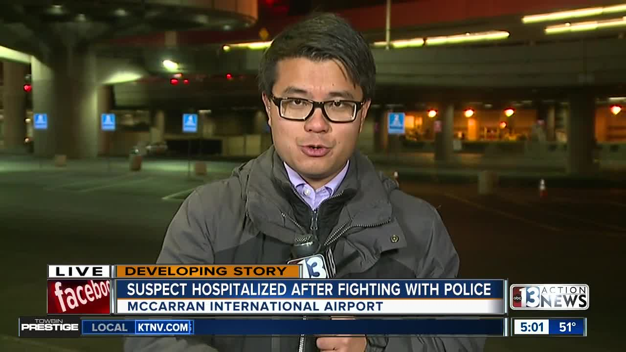 Security expert speaks on McCarran Airport officer-involved shooting