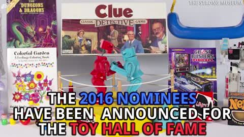 2016's Toy Hall Of Fame Finalists