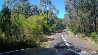 Extremely Close Call With A Semi On A Narrow Road