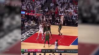 Paul Pierce Makes FINAL NBA Basket, NBA Legends Pay Tribute After Clippers Eliminated from Playoffs - Video