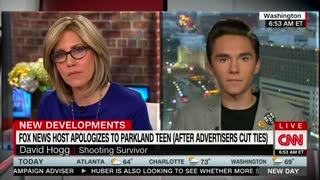 CNN Anchor Gives David Hogg a Journalism Lesson Following Laura Ingraham Controversy - Video