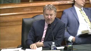 Rand Paul And Fauci Get Into HEATED Exchange Over Wuhan Lab Funding