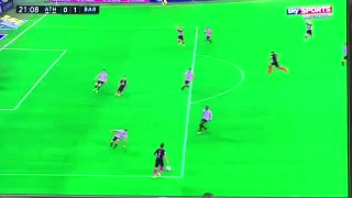 VIDEO: Rakitic Amazing header goal vs Bilbao - Video