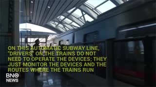 China's First Completely Automatic Subway Unveiled - Video