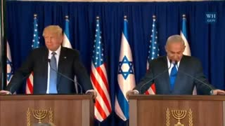 Benjamin Netanyahu Delighted To Welcome President Donald Trump to Jerusalem - Video