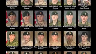 Highway of Heroes - Canadian Tribute to Soldiers and Family - Video