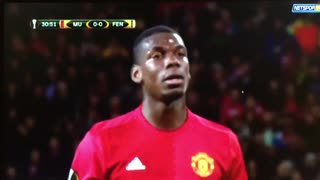 Paul Pogba goal vs Fenerbahce - Video