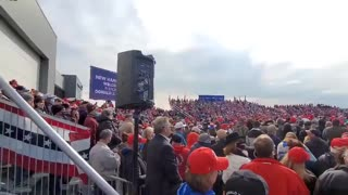 Don't believe the polls. Biggest maga rallies ever.