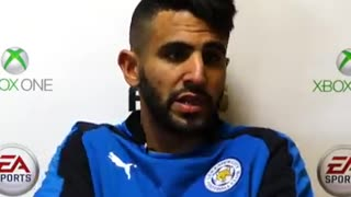 Riyadh Mahrez talks about Lionel Messi and His Dream to play with him. - Video