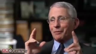 Dr Fauci ( The Angel of Death ) Knows it's wrong for people to wear masks