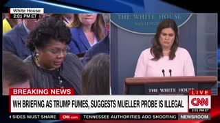 Sarah Sanders shuts down April Ryan over sanctuary cities