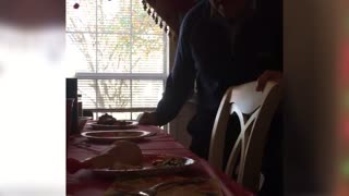 Grandma Mistakes Rubber Drumstick For Dinner - Video